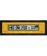 Personalized University of California - Berkeley Campus Letter Art Frame... - $39.95