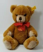 "Steiff Teddy Bear Petsy Jointed 0230/28 Plush Stuffed Toy Tags 10""  W. G... - $39.59"