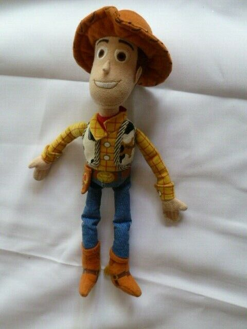 TOY STORY SMALL STUFFED PLUSH WOODY DISNEY PIXAR 11""