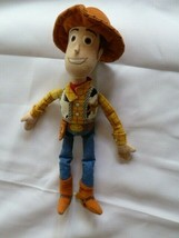"TOY STORY SMALL STUFFED PLUSH WOODY DISNEY PIXAR 11"" - $21.68"