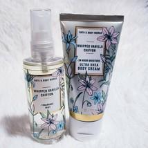 Bath & Body Works WHIPPED VANILLA CHIFFON Body Mist Cream Travel Size Se... - $14.74