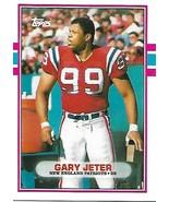 Football Card- Gary Jeter 1989 Topps #17T - $1.25
