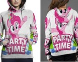 Little pony party time hoodie fullprint for women thumb155 crop