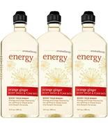 Bath & Body Works Aromatherapy Energy - Orange + Ginger Body Wash & - $44.22