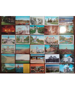 LOT 50 USA vintage postcards **ALL SHOWN**FREE SHIPPING** - $15.00