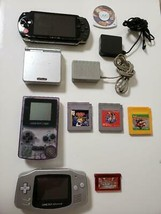 Nintendo Game Boy (Color Advance SP), PSP set sale From Japan Official I... - $148.49