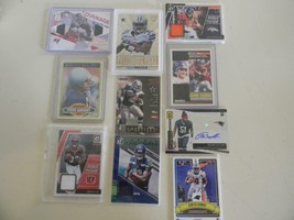 Mixed Lot of 10 Football Cards - $19.34