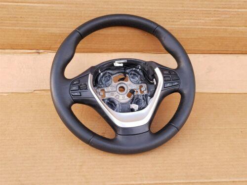 12-18 BMW F30 Sport Steering Wheel w/ Cruise BT Volume Switches W/O Paddles