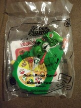 2018 McDonald's Super Mario Childrens Happy Meal Toy #6 - Yoshi Bingo Game NIP - $5.34