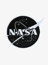 Ripple Junction Space Program NASA Black & White Logo Enamel Pin  - $9.15