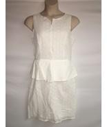 Max Studio Dress Womens Size 12 Off White NWT $118 - $87.08