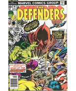The Defenders Comic Book #40, Marvel Comics 1976 FINE - $3.25