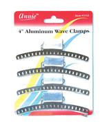 "Annie 4"" Aluminum Wave Clamps Hair Accessories Claw Pins Clips Firm Grip... - $5.89"