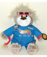 1/2 Price! Nascar Hot Wheels Talking Bubba Driver Plush Bear Mattel 1999 - $8.00