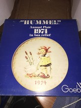 Hummel Goebel Annual Plate 1974 with Original Box - $25.00