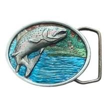 Trout Fish Belt Buckle-Bergamot Brass Works - $34.64