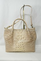 NWT Brahmin Small Mallory Leather Satchel/Shoulder Bag in Blossom Melbourne image 2