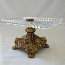Vtg L&L WMC  Pressed Glass Candy Dish Soap Dish Trinket Victorian Cast P... - $44.99
