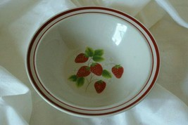 Sango 1989 Fujistone Berries Rimmed Cereal Bowl - $3.46