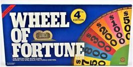 Wheel of Fortune 4th Edition Pressman 1985 - $28.70