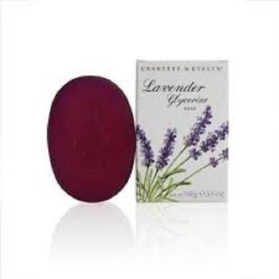 CRABTREE & EVELYN Lavender Glycerine Soap 3.5 oz New in Box