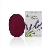 CRABTREE & EVELYN Lavender Glycerine Soap 3.5 oz New in Box - $19.50