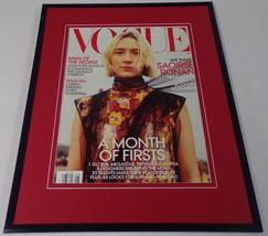 Saoirse Ronan 11x14 Framed ORIGINAL 2018 Vogue Magazine Cover  - $22.55