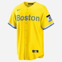 Nike Boston Red Sox CITY CONNECT Boston Marathon Jersey Adult XXL NWT  - $222.00