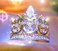 HAUNTED RING GIFTS OF THE WORLD ILLUMINATED WORLD MASTER MAGICK 925 7 SCHOLARS  - $277.00