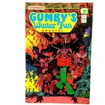 Gumby's Winter Fun Special #1 Comico 1988 VF Art Adams  - $4.90