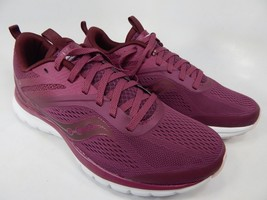 Saucony Liteform Miles Sz 8 M (B) EU 39 Women's Running Shoes Burgundy S30007-5 - $52.78