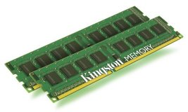 Kingston ValueRAM 4 GB Kit (2x2 GB Modules) 1333MHz PC3-1066 DDR3 DIMM Desktop M - $19.75
