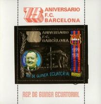 F. C. Barcelona 75 Anniversary J. Camper Sport Soccer Champion S/S - $9.50