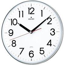 Seiko CLOCK clock wall clock stylish design radio clock twin -Pas KX301H - $186.26