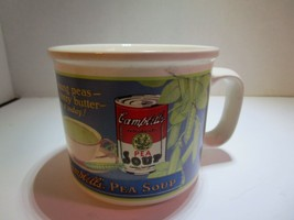 Campbells Pea Soup Ceramic Mug by Westwood 1994 Campbell Soup Co. Free S... - $13.68