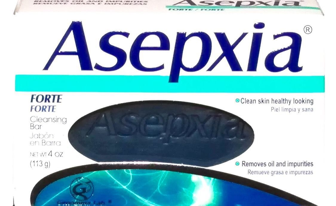 Asepxia Forte Acne & Blemish Control Antiacnil FP Soap Bar 100g New Sealed
