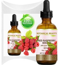 RED RASPBERRY SEED OIL. 100% Pure / Natural / Undiluted / Refined Cold P... - $12.07