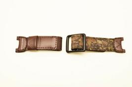 OriginalPathfinder Hunting Casio Timer  Watch Band STRAP Brown FABRIC  P... - $31.45