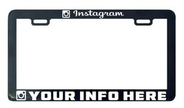 Instagram Camera Design your own custom personalize license plate frame ... - $5.99