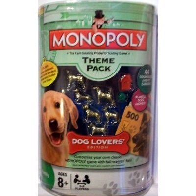 Monopoly Theme Pack Dog Lovers Edition Tokens Money New