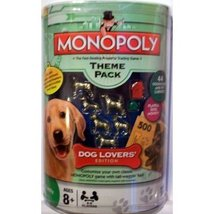 Monopoly Theme Pack Dog Lovers Edition Tokens Money New - $11.99