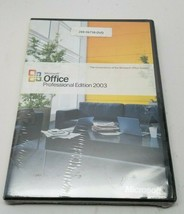 Microsoft  Office Professional Edition 2003 (Old Version) - Sealed Box - $54.99