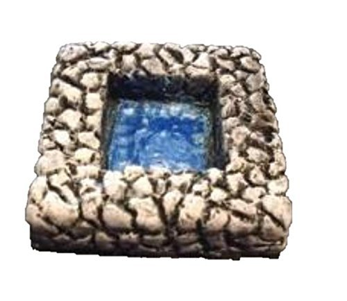 2'' x 2'' Square Pool (Set of 2) 28mm scale pre painted Dungeon Game Terrain Acc