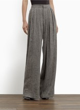 NWT $575 Theyskens Theory Dress Pants 0 Womens New Wide Tall High Waist ... - $258.75