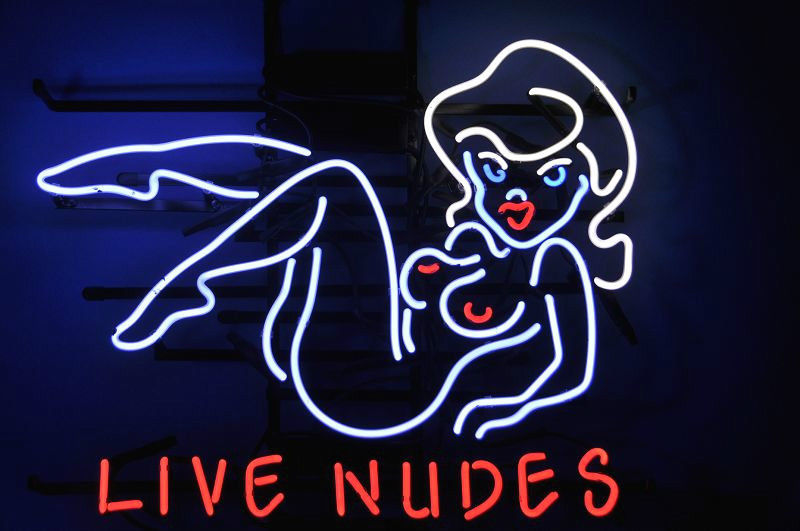 """New Live Nude Dancers Sexy Girl Bar Pub Beer Neon Sign 19""""x15"""" Ship From USA"""