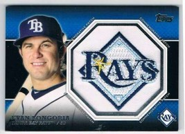 2013 Topps Commemorative Patch #CP-36 Evan Longoria NM-MT Rays - $22.72