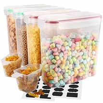 Cereal Container, VERONES Airtight Storage Containers Perfect for Flour ... - €27,16 EUR