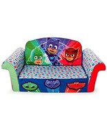Marshmallow Furniture - Children's 2 in 1 Flip Open Foam Sofa, PJ Masks Flip - $41.79
