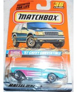 """1998 Matchbox """"57 Chevy Convertible"""" #36 of 100 Vehicles Mint On Sealed ... - $4.00"""