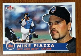 Mike Piazza NY Mets HOF - 2001 Fleer Tradition - #152 - Fast Shipping - $1.97
